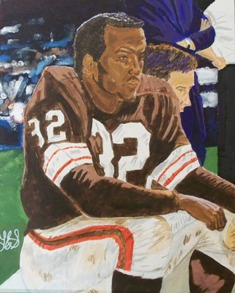 Jim Brown - Acrylic painting on 18 x 24 canvas.